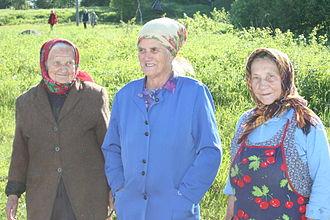 Finno-Ugric peoples - Image: Karjalan mummot