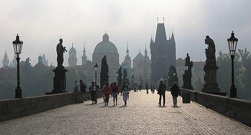 Puente de Carlos - Praga