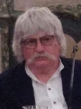 Karl Jenkins - Jenkins during a conference in Arco, Trentino, 2016