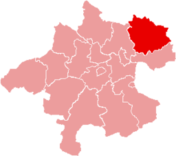 Bezirk Freistadt location map
