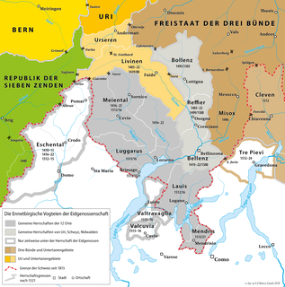 Transalpine campaigns of the Old Swiss Confederacy