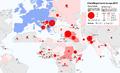 Karte Flüchtlingskrise in Europa 2015 - Herkunftsländer der Asylsuchenden.png