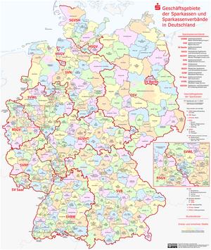 German public bank - Saving banks coverage in Germany