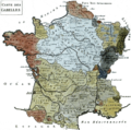 Karte der Salzsteuer (gabelle) in Frankreich des 18. Jahrhunderts.png