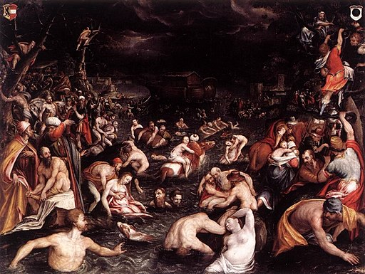 Kaspar Memberger (I) - Noah's Ark Cycle - 3. The Flood - WGA14802