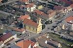 Katolikus templom légi felvételen, Jánossomorja.jpg