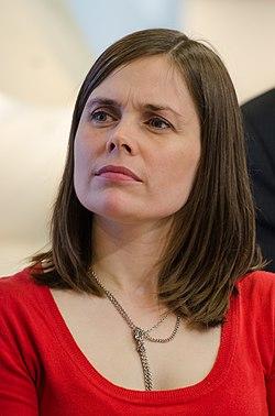 Katrín Jakobsdóttir at Göteborg Book Fair 2012 03 (cropped).jpg
