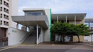 Katsuta Station - Image: Katsuta Station west side 20170603