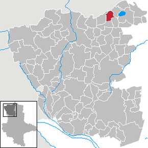 Location of Kaulitz within Altmarkkreis Salzwedel