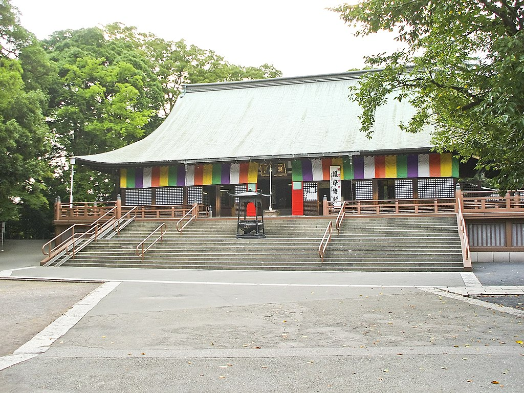Kawagoe Kitain temple main hall