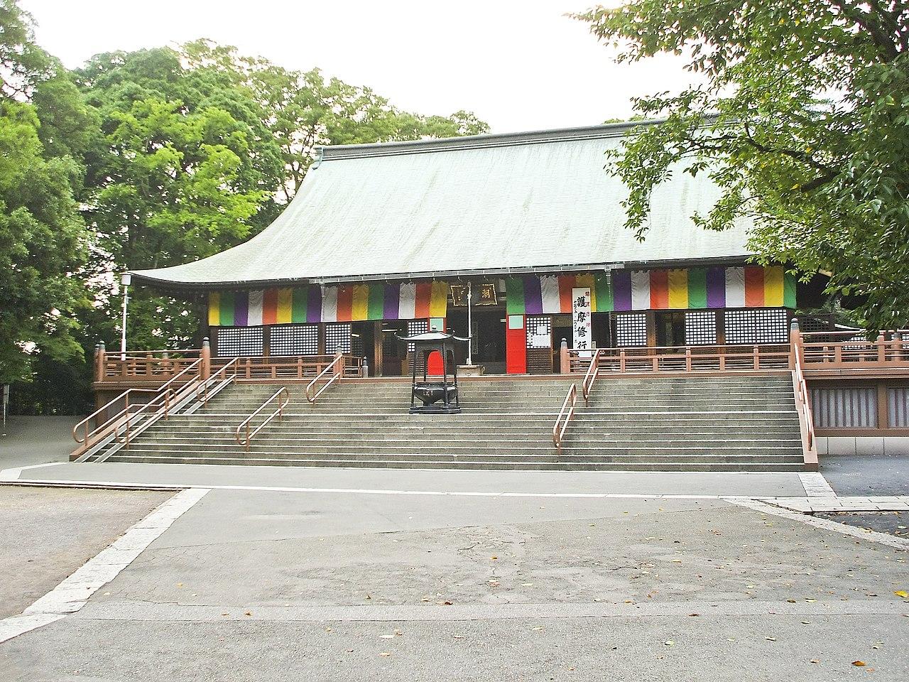 Kawagoe Kitain temple main hall.jpg