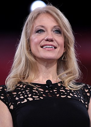 Donald Trump presidential campaign, 2016 - Kellyanne Conway at the Conservative Political Action Conference 2016