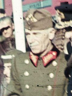 Lajos Keresztes-Fischer Hungarian soldier