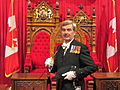 Kevin MacLeod in Canadian Senate Chamber 2009.jpg