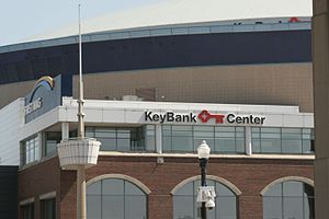 KeyBank Center - KeyBank Center from Canalside