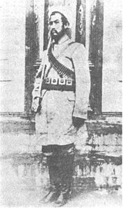 Khotan Amir Abdullah Bughra killed at yarkand in april 1934.jpg