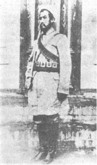 First East Turkestan Republic - Khotan Amir Abdullah Bughra (1933–1934)