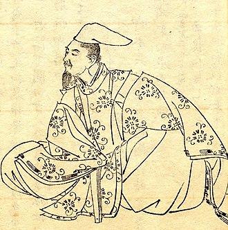 Ki no Tsurayuki - Tsurayuki by Kikuchi Yōsai