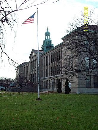 Tonawanda (city), New York - Image: Kibler High Nov 2008
