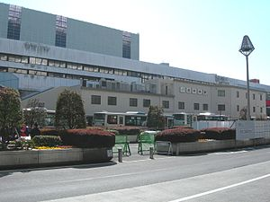 Kichijoji Station-North-20110313.jpg