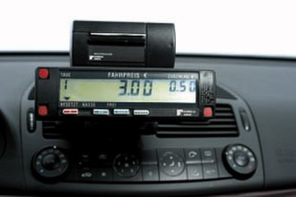 Taxicab - Taximeter