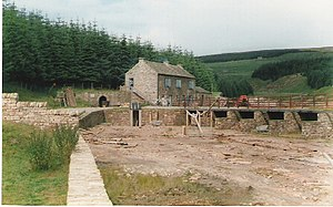 North of England Lead Mining Museum - The mine as it appeared in 1988