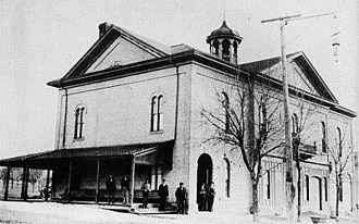 Kincardine, Ontario (community) - The Old Town Hall Circa 1900