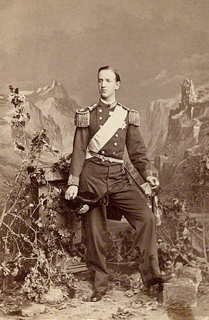 George I of Greece - Photograph by Southwell Bros., 1863