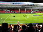Le Kingsholm Stadium.