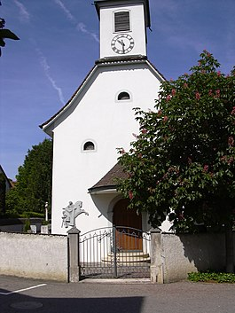 The church of St. Martin at Bättwil