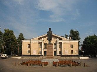 Kirovsk, Leningrad Oblast - Monument to Sergey Kirov in Kirovsk