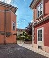 Klagenfurt Innere Stadt Pfarrhofgasse 8 Vorstadthaus Ecke Eggergasse 23082020 9786.jpg