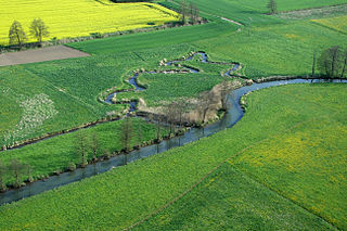 Kleine Laber River in Germany