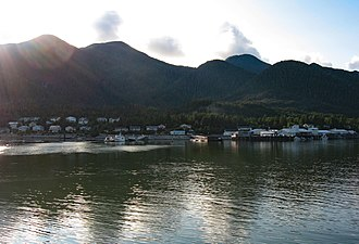 Klemtu - Klemtu, British Columbia - as of 8/05/2006 (taken from Alaska ferry M/V Columbia)