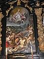 Kloster Mondsee Kirche - Wolfgangsaltar Altarbild 1 Gesamt.jpg