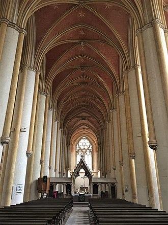Haina - Image: Klosterkirche Haina, Innenansicht