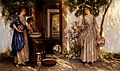 Knight, Daniel Ridgway - Jeanne sur la terrasse.jpg