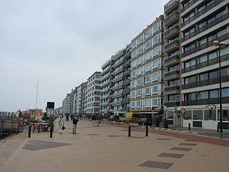Knokke-Heist - Beachpromenade in Knokke-Heist