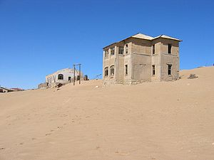 Kolmanskop - Image: Kolmannskuppe 02