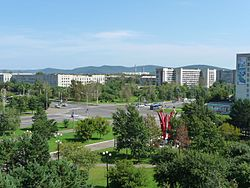 View of Komsomolsk-on-Amur