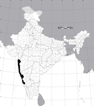 Konkan - Modern Districts of India forming the Konkan