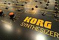 Korg MS-20 wall version (a.k.a. Blackboard Teacher Synth) - logo near the ESP block (2016-10-15 by FranckinJapan @pixabay 1748061).jpg