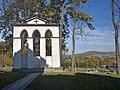 Kostarowce, cerkiew Szymona Słupnika, dzwonnica (HB6).jpg