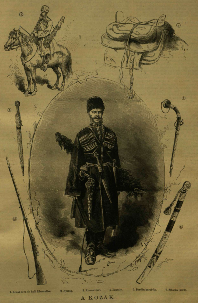 Kozák és felszerelése