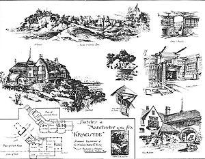 Kragsyde - Sketches of Kragsyde (1885).