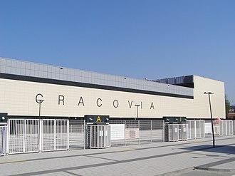 Marshal Józef Piłsudski Stadium - Main entrance to the stadium