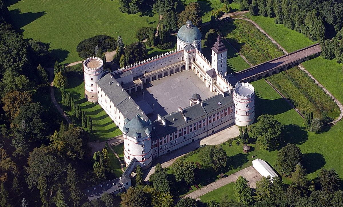 krasiczyn castle wikipedia