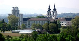 Kremsmuenster Abbey Northeast.jpg