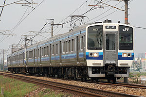 213 series - JR-West 213-0 series