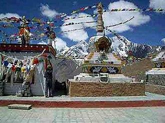 Kunzum Pass - Image: Kunzum Pass between Lahaul & Spiti